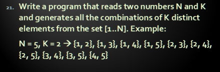 arrays21Combinations